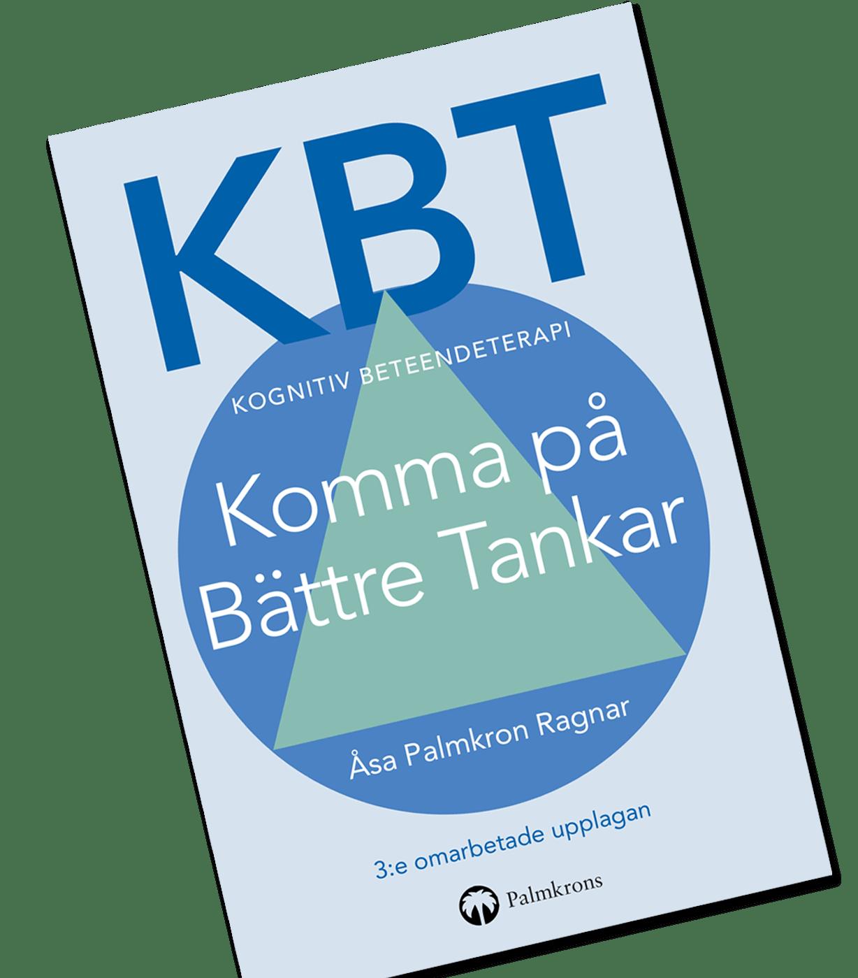 Bok KBT Kognitiv Beteendeterapi Komma på Bättre Tankar